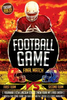 24 best football flyers images event flyer templates event flyers