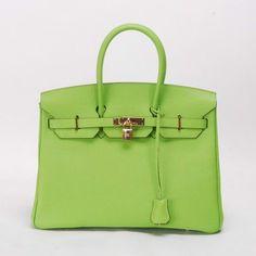 Birkin bag apple green
