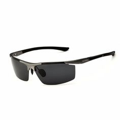 Aluminum Magnesium Alloy Sunglasses UV Protection Polarized Driving Outdoor Eyeglasses at Banggood