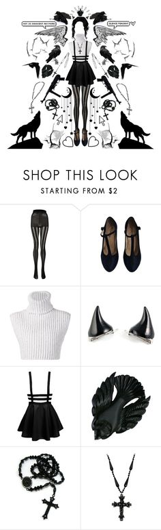 """""""Faith's Feathers"""" by sw-13 ❤ liked on Polyvore featuring Boohoo, Repetto, Baja East, Old Navy, Pointer and Shamballa Jewels"""