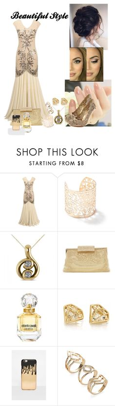 """Women's Style"" by amidjanswife45 ❤ liked on Polyvore featuring Miss Selfridge, Allurez, Whiting & Davis, Roberto Cavalli, Missguided and BCBGMAXAZRIA"