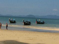 Krabi,Thailand Krabi Thailand, Boat, Mountains, Nature, Travel, Dinghy, Naturaleza, Viajes, Boats