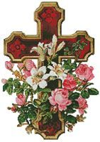 Christian Cross Stitch. New Free Christian Cross Stitch Pattern added every Friday.