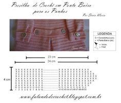 No link a seguir veja como tecer as presilhas para as mangas e cintura http://falandodecrochet.blogspot.com.br/2012/08/presilhas-de-croche-para-as-mangas-e.html