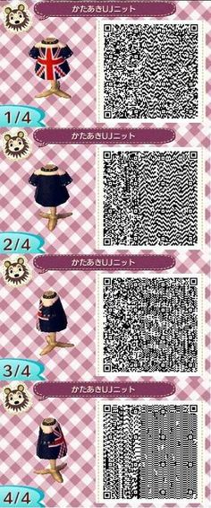 Animal crossing new leaf London top qr code