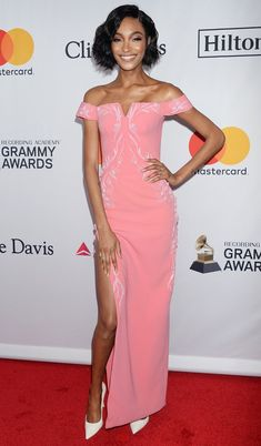 Grammys 2018 Best Dressed at the Afterparties and Preparties - Jourdan Dunn in Zac Posen