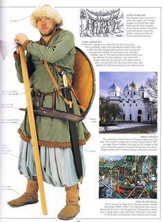 A história russa inicia-se com os eslavos do leste que surgiram como um grupo étnico reconhecido na Europa entre os séculos III e VIII. Fundada e dirigida por uma classe nobre de guerreiros vikings e por seus descendentes, o primeiro Estado eslavo, o Principado de Kiev, surgiu no século IX e adotou o cristianismo ortodoxo do Império Bizantino em 988, dando início à síntese das culturas bizantina e eslava, o que acabou por definir a cultura russa.