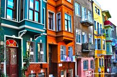 Old City Balat Houses in #istanbul Visit my website for more istanbul photos > http://www.emrekaracabay.com/