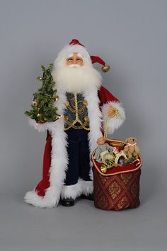 Crakewood Lighted Traditional Santa