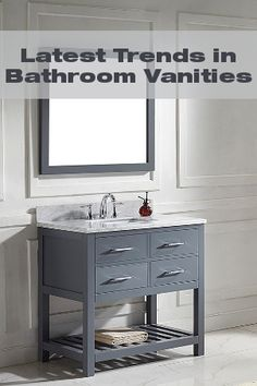 virtu usa caroline 48-inch single-sink bathroom vanity set