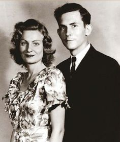 Hank Williams and Audrey Sheppard, married 1944