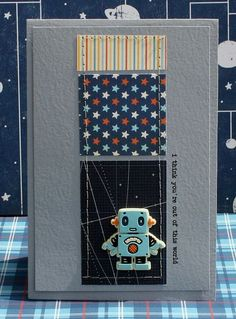 Out of This World Card by Danni Reid  OA Rocket Age