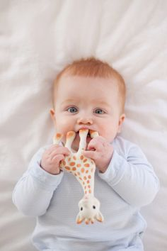 @Veronica Sartori Sartori Randolph I think you have a good chance of having a child that looks like this and I will make sure Sophie la Girafe is a part of his life too :)