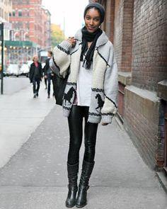 Winter Layering – Street Fashion Showing Layered Looks - Elle