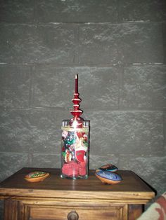 Todo reciclado...creatividad K....Gracias Kristi por dejarnos pensar !!!!