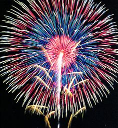#fireworks | Very cool starburst firework shell with multi colored effect - Epic Fireworks
