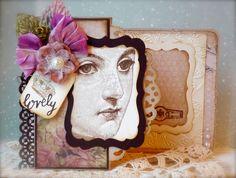Synnøves Papirverksted: Lovely lady