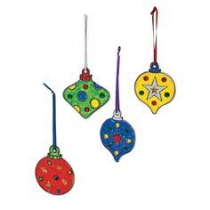 Christmas Ornament Suncatchers - OrientalTrading.com