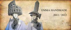 sculptural crochet hats by Emma Handmade