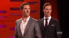 Benedict Cumberbatch Photobombs his own Wax Figure - The Graham Norton S...