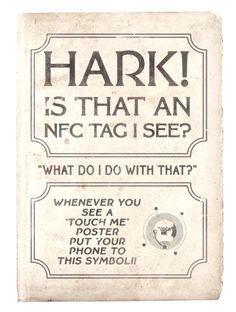 Consumer Education! NFC Poster - 1910s Style @ModernJago @33Digital Great work guys!
