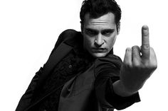 suicideblonde: Joaquin Phoenix photographed by Michael Mueller. the fuck you the bird fingers up little fuck Joaquin Phoenix, Joker, Funny Animal Quotes, Celebrity Travel, Photoshop, Wedding Tattoos, Favorite Words, Are You The One, Beautiful Men