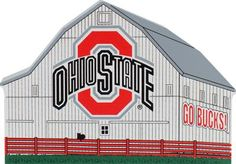 OSU, Buckeyes Barn (Logo) | The Cat's Meow Village