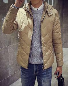 $20.18 Padded jacket in beige.