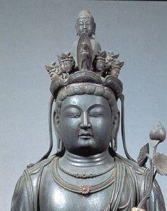 Japanese National Treasure, Statue of eleven-faced #Kannon #Bosatsu