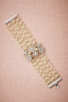 Seapearl Bracelet from BHLDN - $340#mwbridalstyle and #bhldnbride