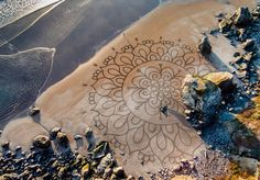 Man Quits His Job After Visiting Burning Man,  Spends 10+ Years Drawing In The Sand