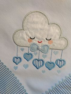 Embroidery, Quilting And Crafting Suppli - Diy Crafts - Marecipe Quilt Baby, Baby Quilt Patterns, Applique Patterns, Applique Designs, Baby Applique, Baby Embroidery, Hand Embroidery Designs, Cross Stitch Embroidery, Colchas Country