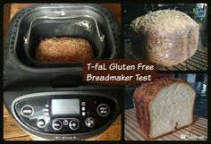 Folks often ask me about which bread machine is best for baking gluten free bread. In this review, I share my experience with this new one from T-fal.