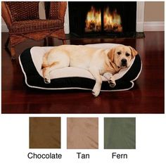 Deep Seated Lounger Pet Bed | Overstock.com