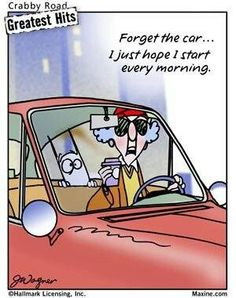 Image result for maxine car cartoon