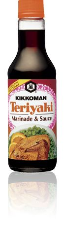 Recipes, Cooking Products and More for Home Cooks - Kikkoman : Almond Crusted Chicken Tender Salad with Orange Teriyaki Honey Dressing Teriyaki Pork Chops, Teriyaki Rice, Teriyaki Marinade, Marinade Sauce, Teriyaki Chicken, Teriyaki Wings, Teriyaki Salmon, Thai Chicken, Soy Sauce