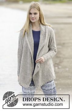 Free Pattern Drops Design, Brushed Alpaca Silk