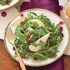Pomegranate,+Pear+and+Arugula+Salad+|+MyRecipes.com