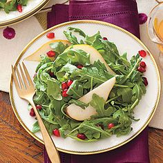 Pomegranate,+Pear+and+Arugula+Salad+|+MyRecipes.com