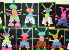 aliens collage:Individual