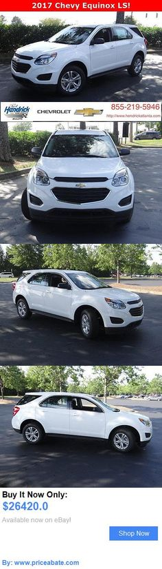 SUVs: Chevrolet: Equinox Fwd 4Dr Ls Fwd 4Dr Ls New Suv Automatic Summit White BUY IT NOW ONLY: $26420.0 #priceabateSUVs OR #priceabate