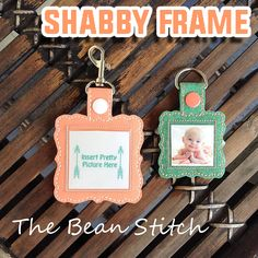 Shabby Frame - TWO Sizes INCLUDED!