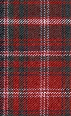 A red tartan, classic?