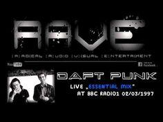 """Daft Punk - Live """"Essential Mix"""" @ BBC Radio1 02/03/1997"""