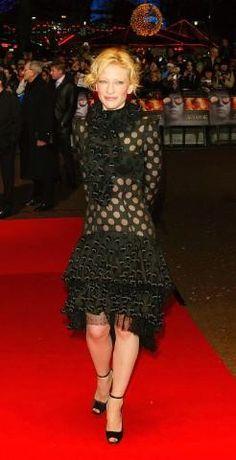Кейт Бланшетт в Yves Saint Laurent