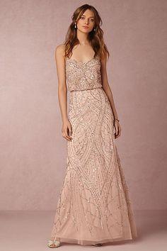 Anthropologie x BHLDN Tobin Wedding Guest Dress