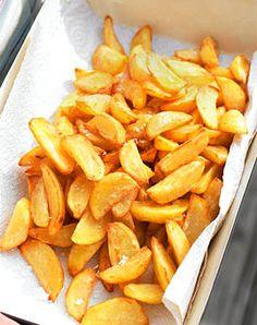 Kartoffelspalten mit Senf-Limetten-Mayonnaise - Rezepte - [LIVING AT HOME]