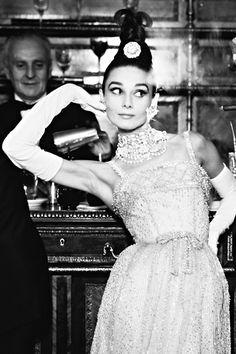 Audrey Hepburn photographed by Richard Avedon for Harper's Bazaar, 1959