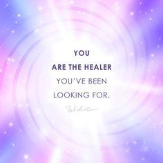 Quote: You are the healer you've been looking for. Positive Affirmations Quotes, Affirmation Quotes, Positive Quotes, Spiritual Life, Spiritual Quotes, Healing Quotes, Messages, Self Love Quotes, Holistic Healing