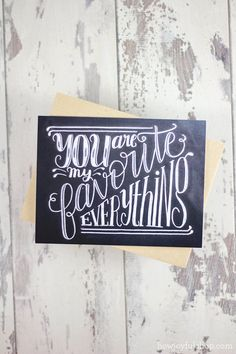 howjoyful :: You are my favorite everything